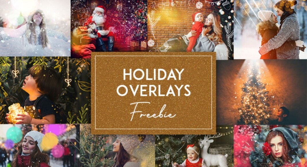 10 Free Holiday Overlays