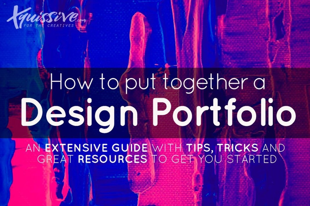 How to put together a design portfolio