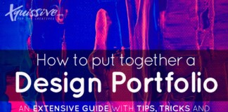How to put together a design portfolio