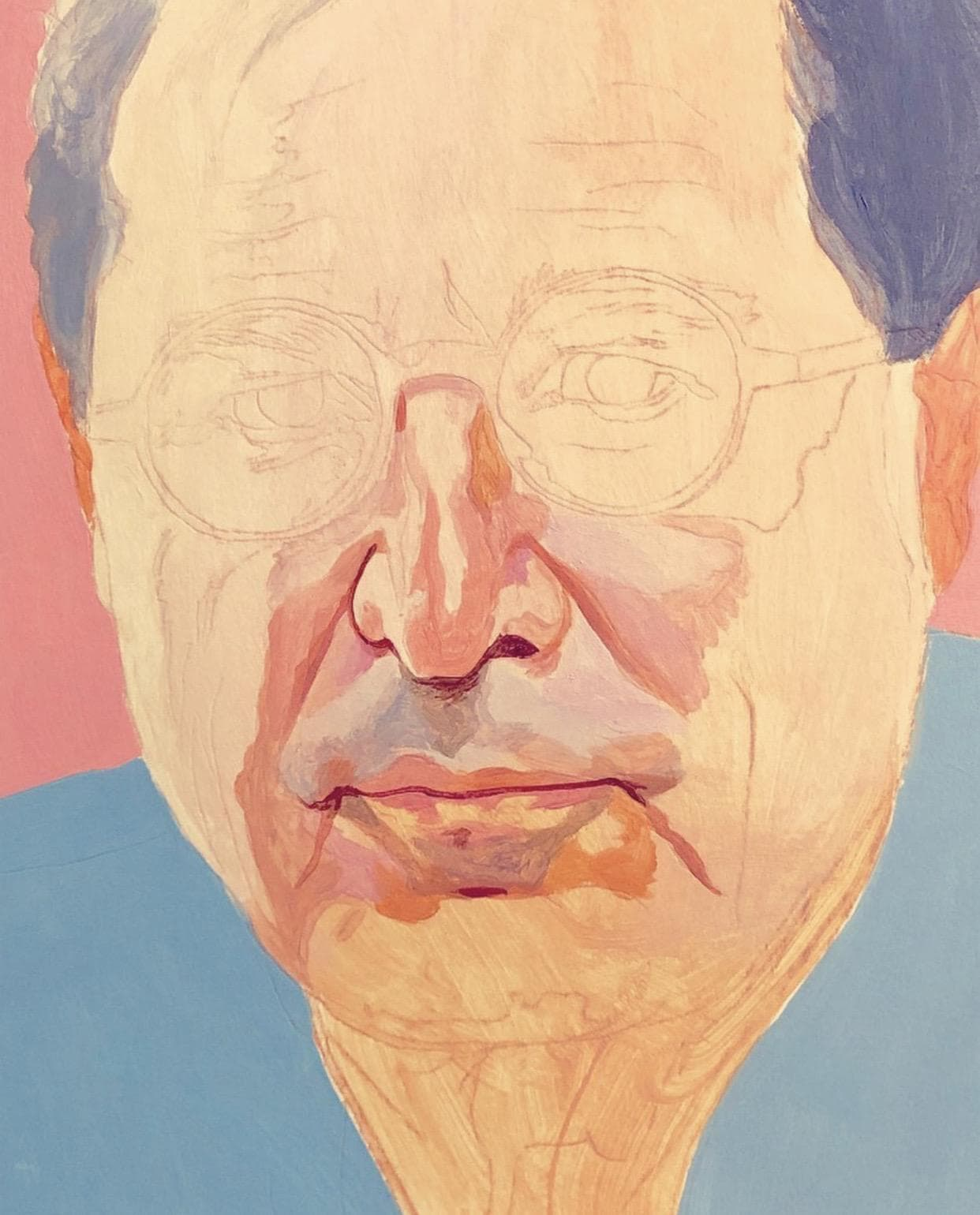 Portrait Painting in progress by David de las Heras