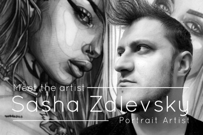 Meet the Artist - Alexandr Zalevsky Interview