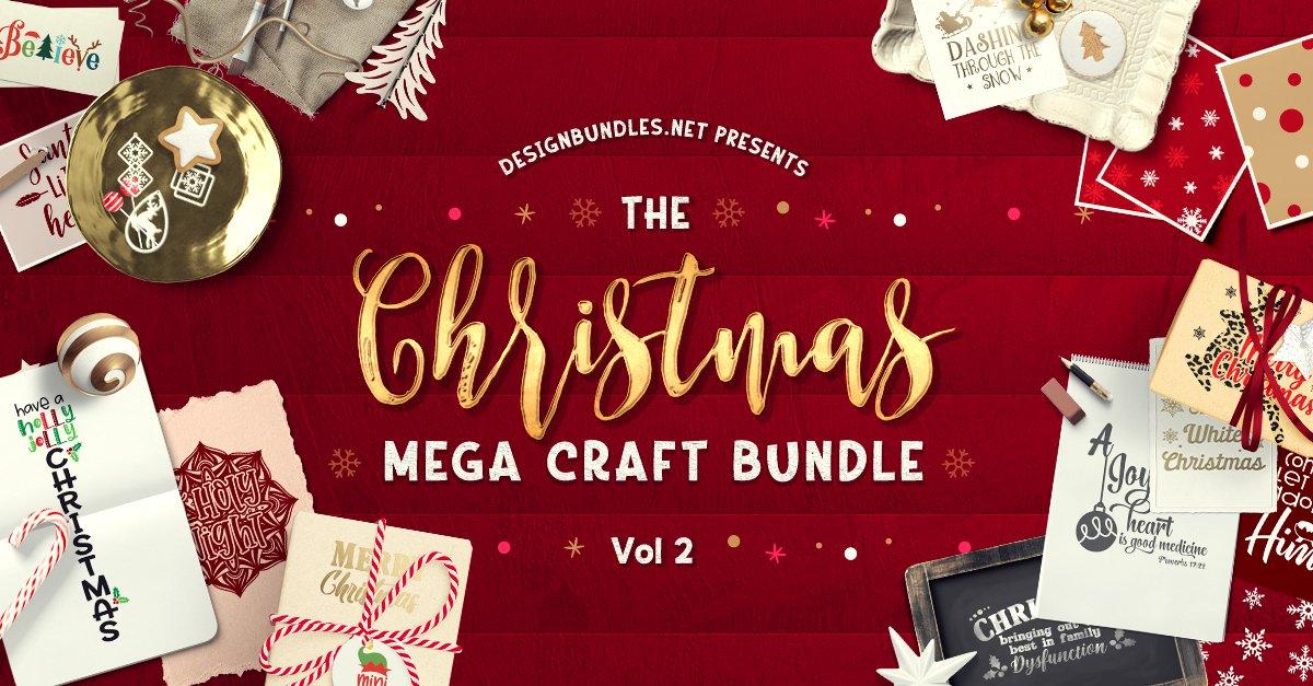 The Christmas Crafts Mega Craft Bundle