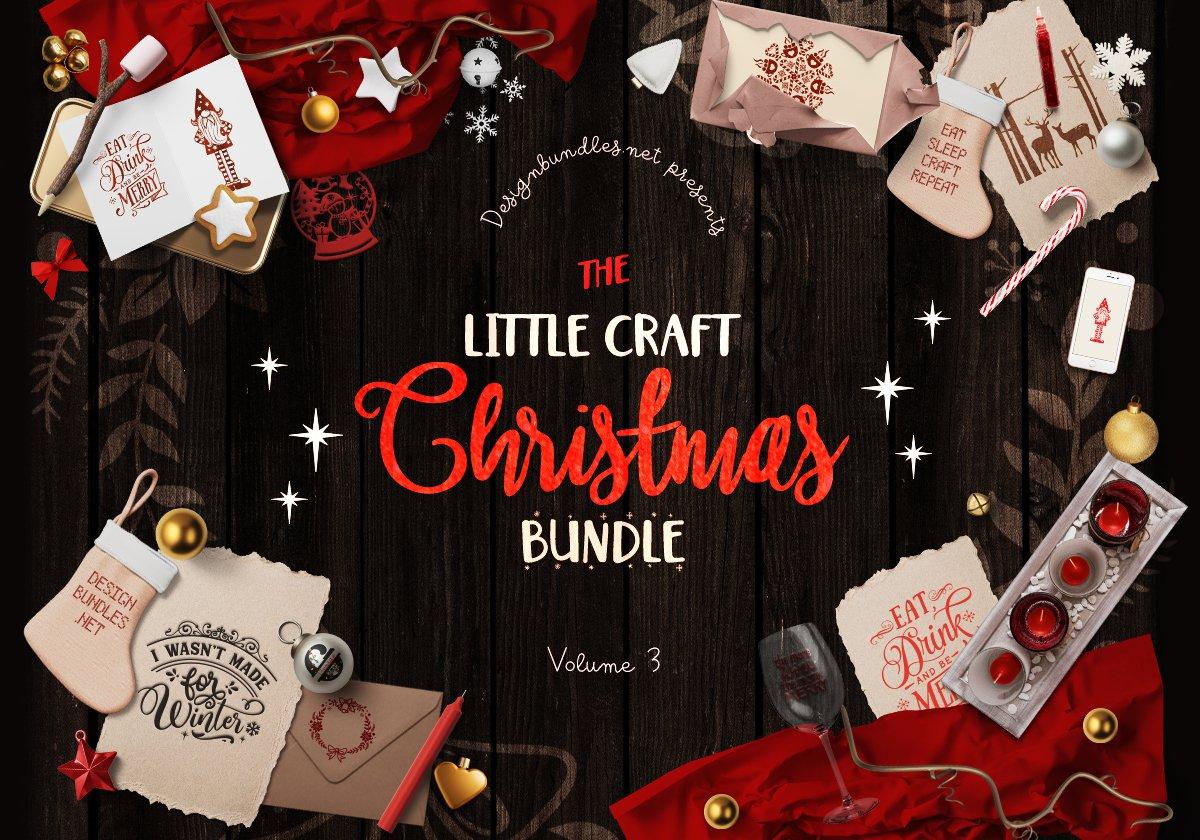 The Little Craft Christmas Bundle V3
