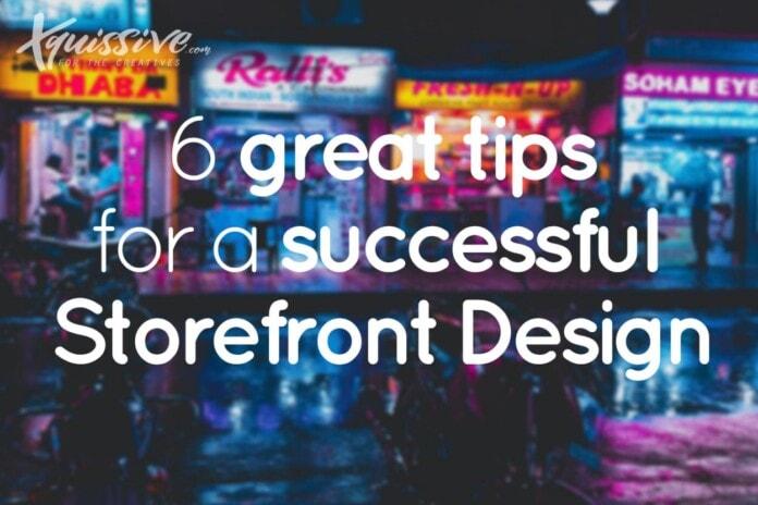 6 storefront design tips