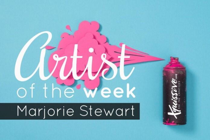 Artist of the Week 50 - Marjorie Stewart