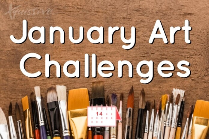 January Art Challenges 2021