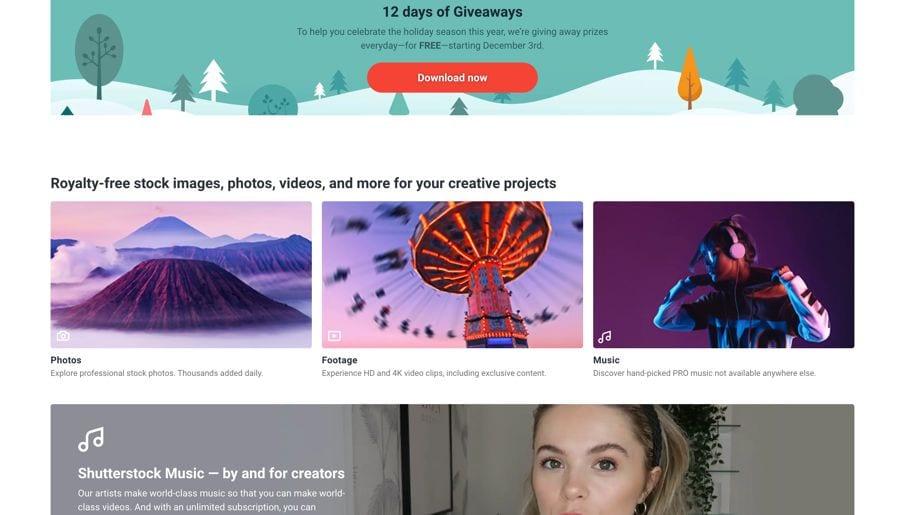 Shutterstock Stock images for Calendars