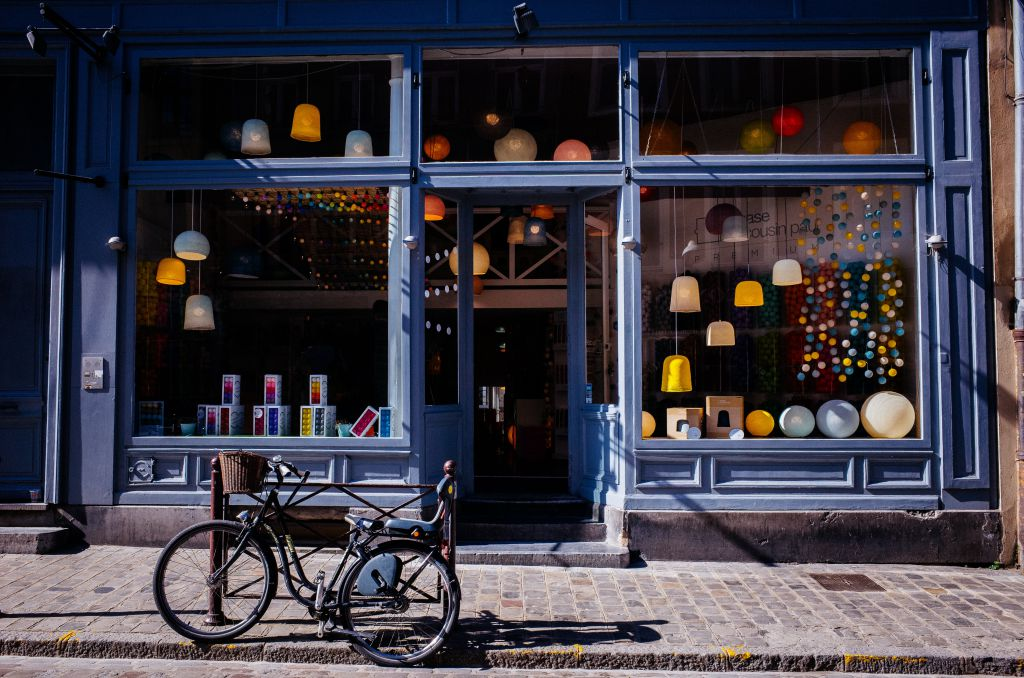 Colourful Storefront
