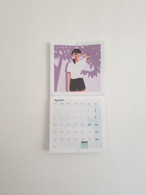 Promote your art business using a calendar