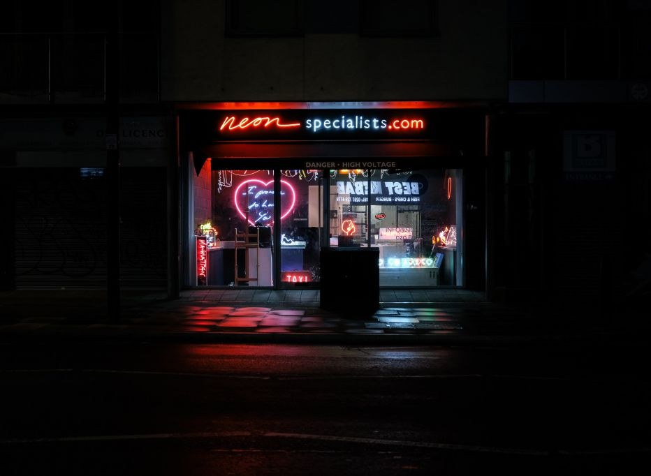 Neon Storefront