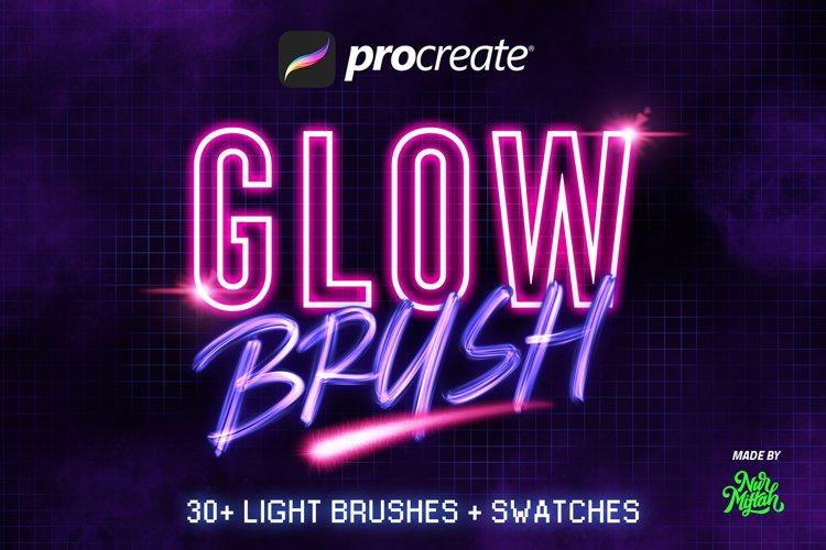 30 Procreate Glow Brushes