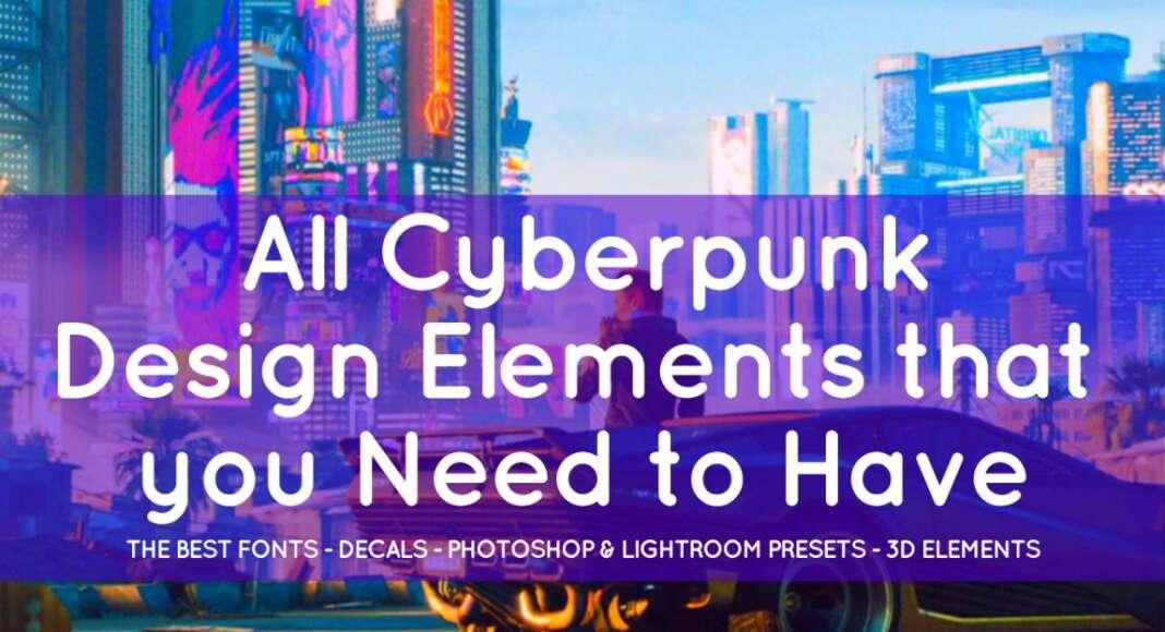 Cyberpunk Design Elements Toolkit