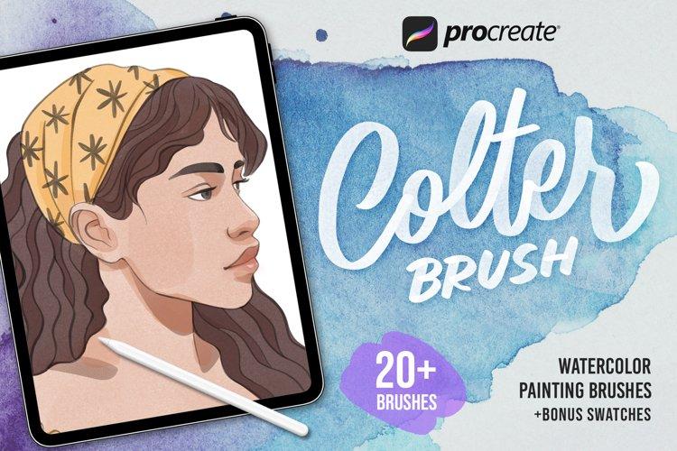 Procreate Colter Brush Watercolor
