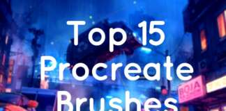 Top 15 Procreate Brushes