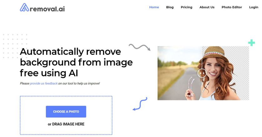 Removal.ai - Remove image backgrounds online