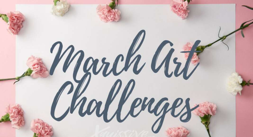 List of March Art Challenges