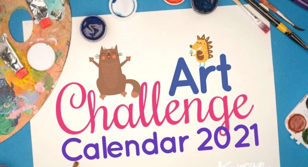 Art Challenge Calendar