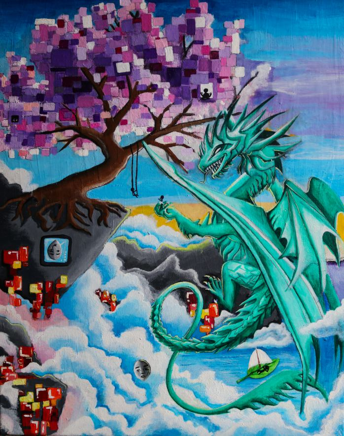 Dragon Painting - Brronte