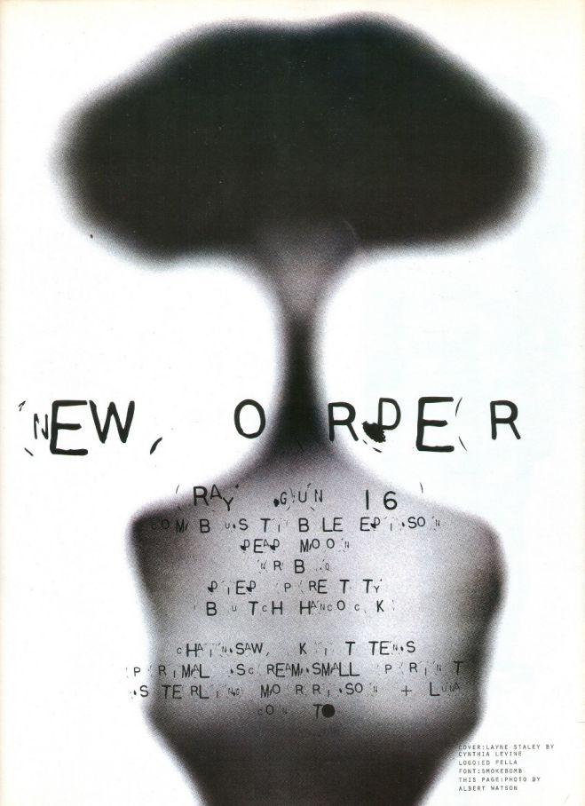 New Order - David Carson