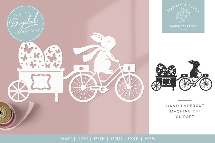 Easter Egg Trailer Clipart