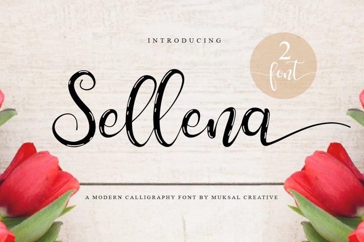 Free Sellena Script Font