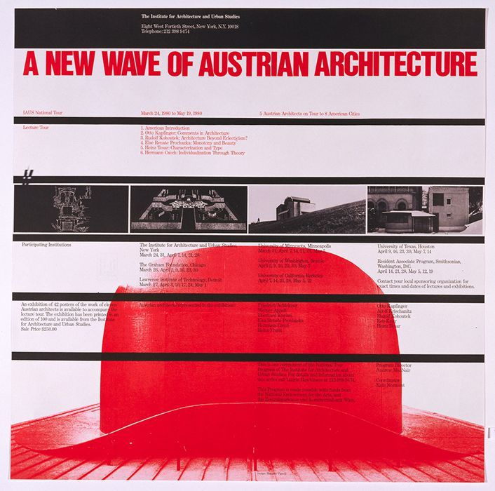 Massimo Vignelli - A New Wave of Austrian Architecture