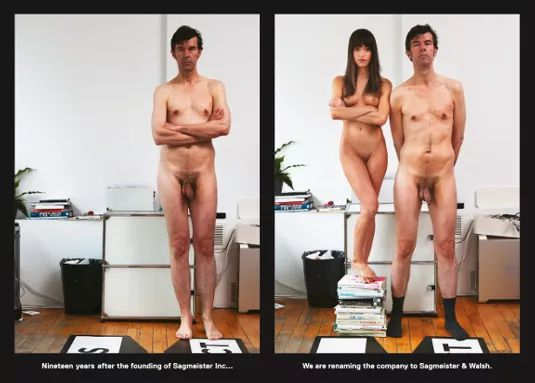 C: Sagmeister and Walsh