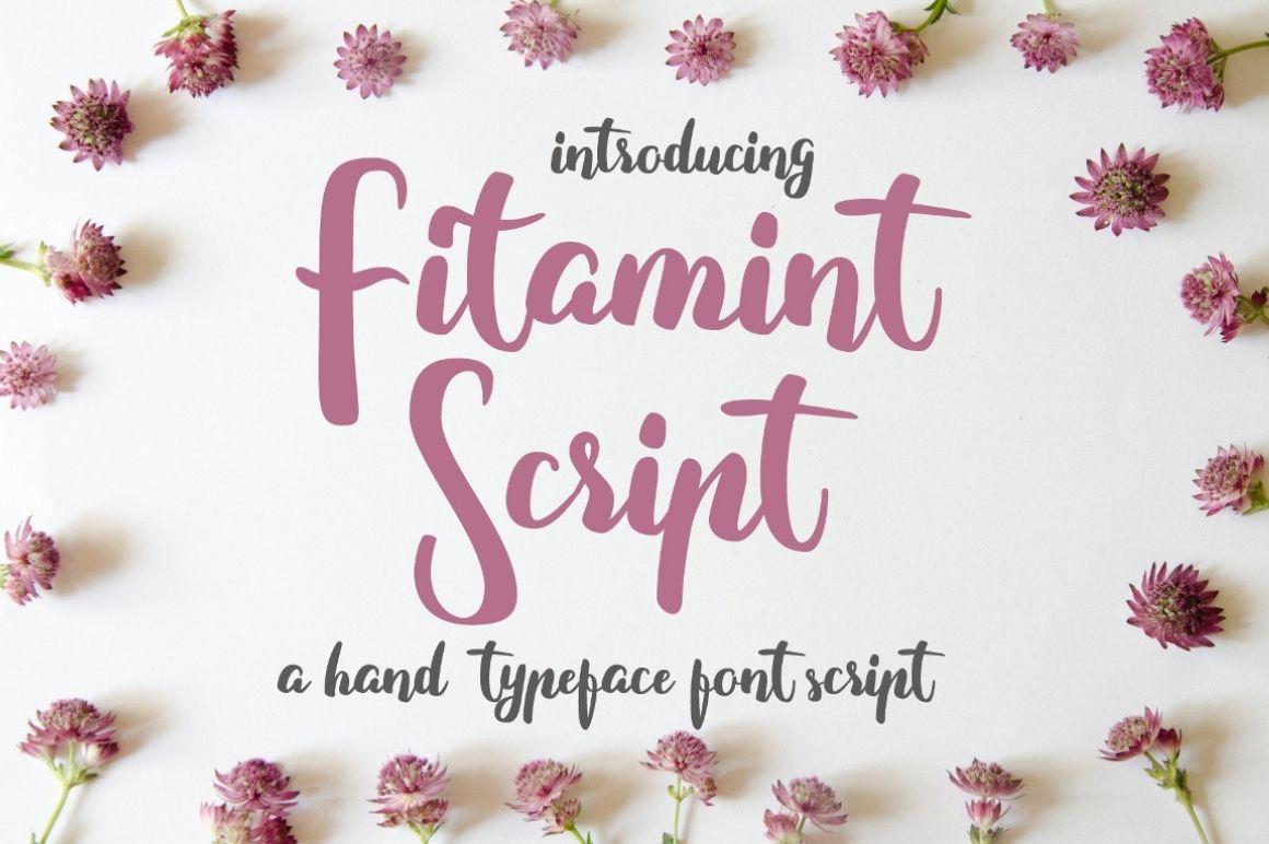 Free Fitamint Script Font