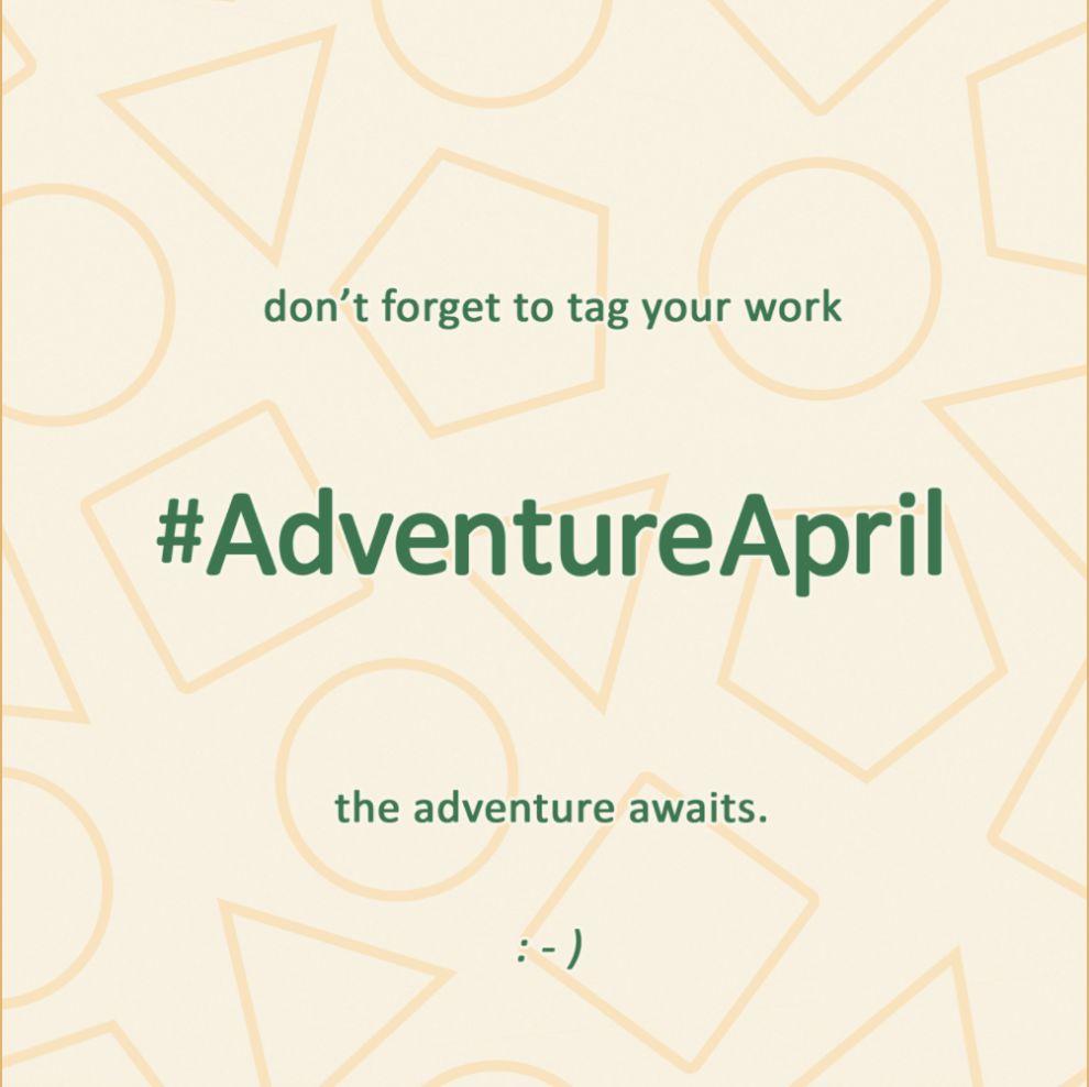 Adventure April Art Challenge