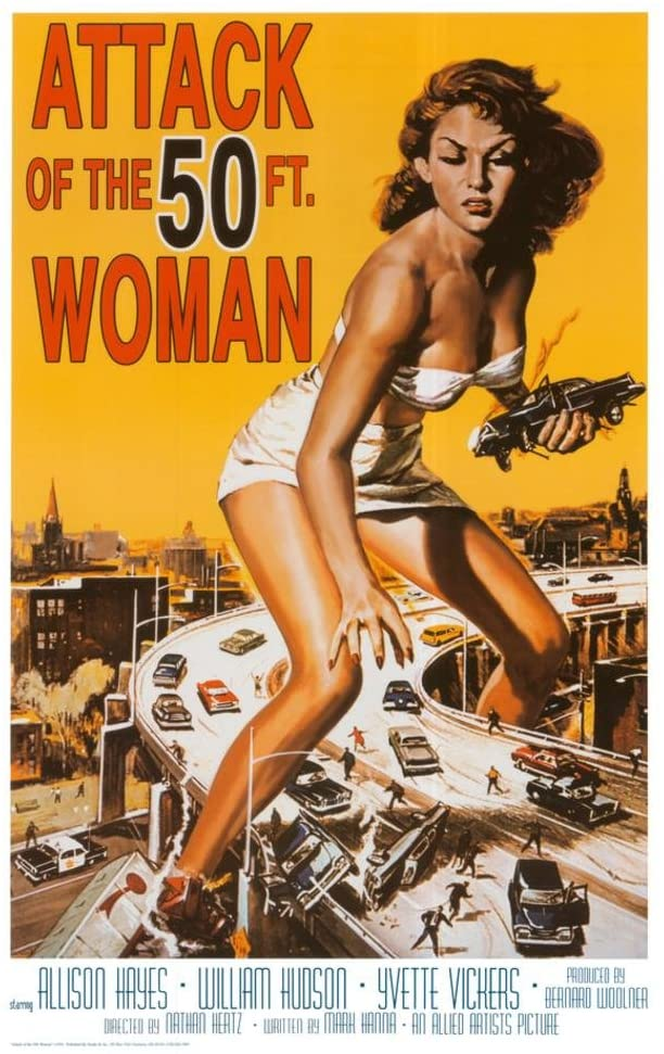 Attack of the 50ft women Movie Poster