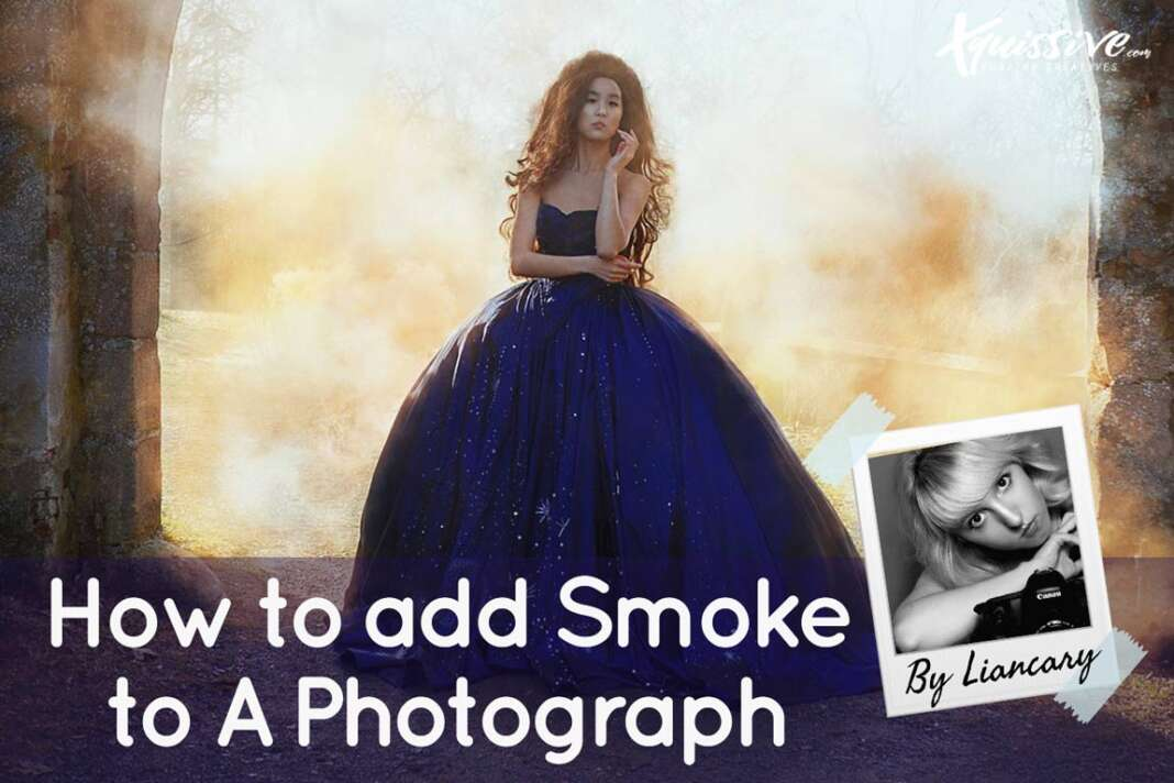 How to add smoke to a photo in photoshop