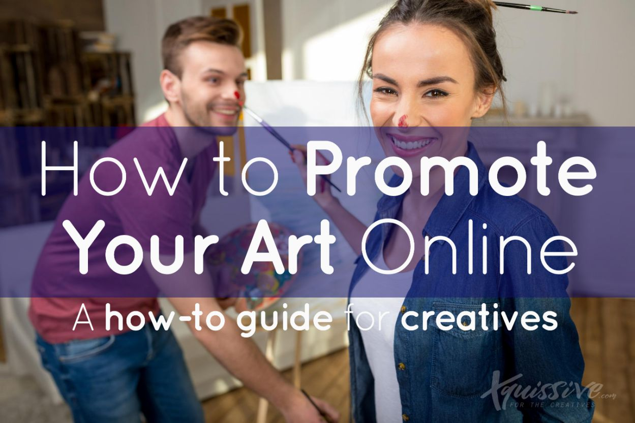 How to promote your art online