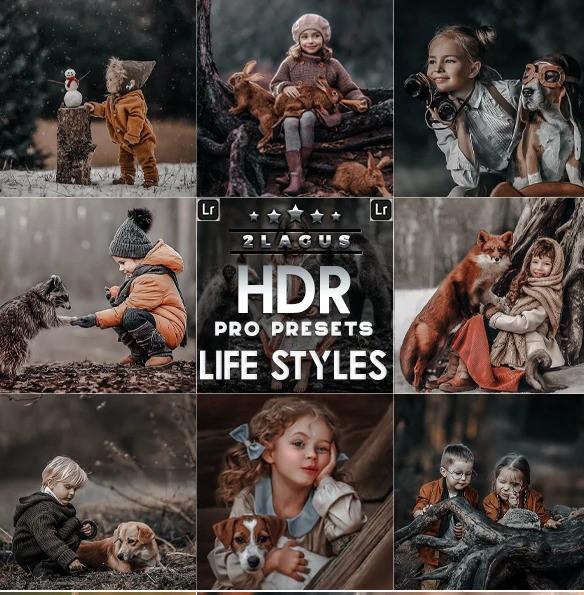 PRO HDR Lightroom Presets ( Mobile & Desktop)