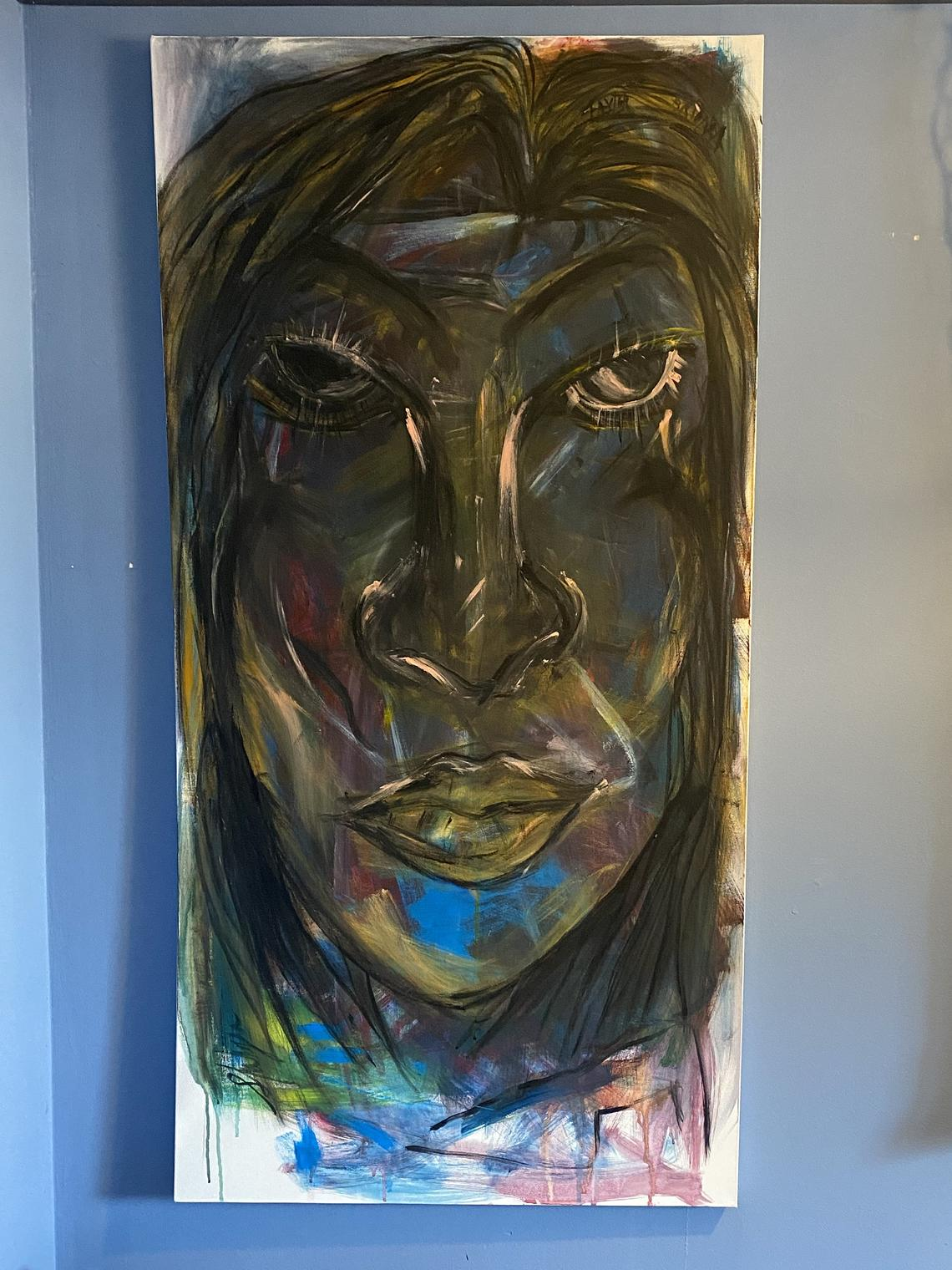 Shantana - Painting by Shakyra Sanders