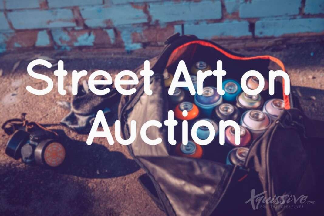 Street Art on Auction at Catawiki