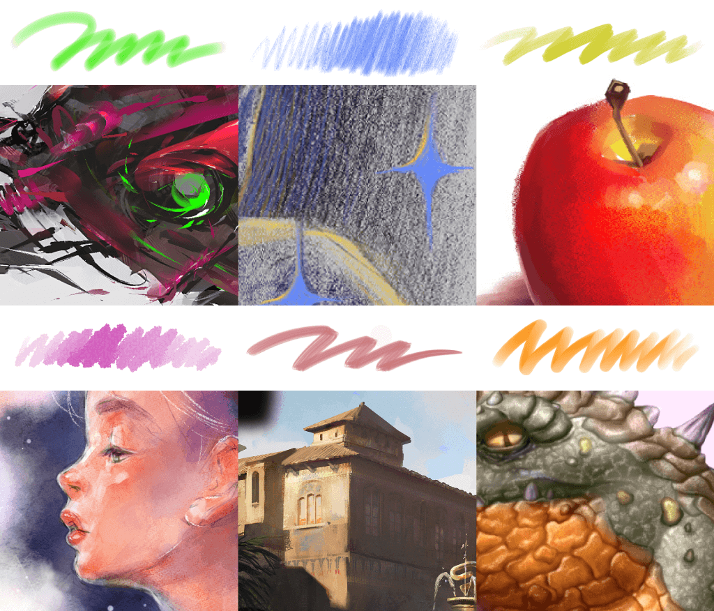 Unlimited painting styles in Clip Studio Paint