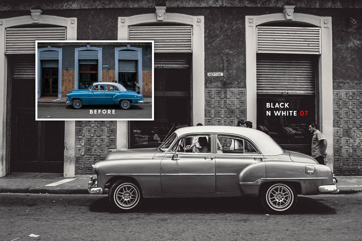 Film Look Lightroom and Photoshop Presets