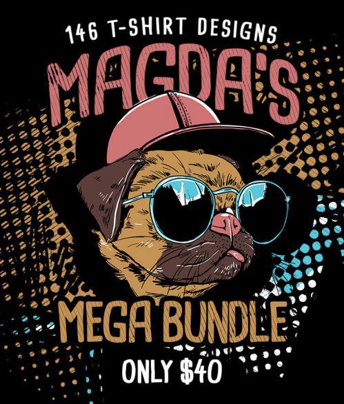 Magda's Mega T-shirt Designs Bundle