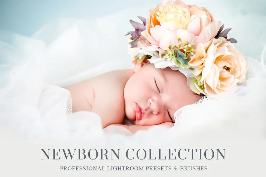 Newborn Lightroom Presets and Brushes