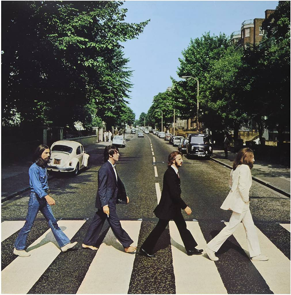 Abbey Road - The Beatles album cover