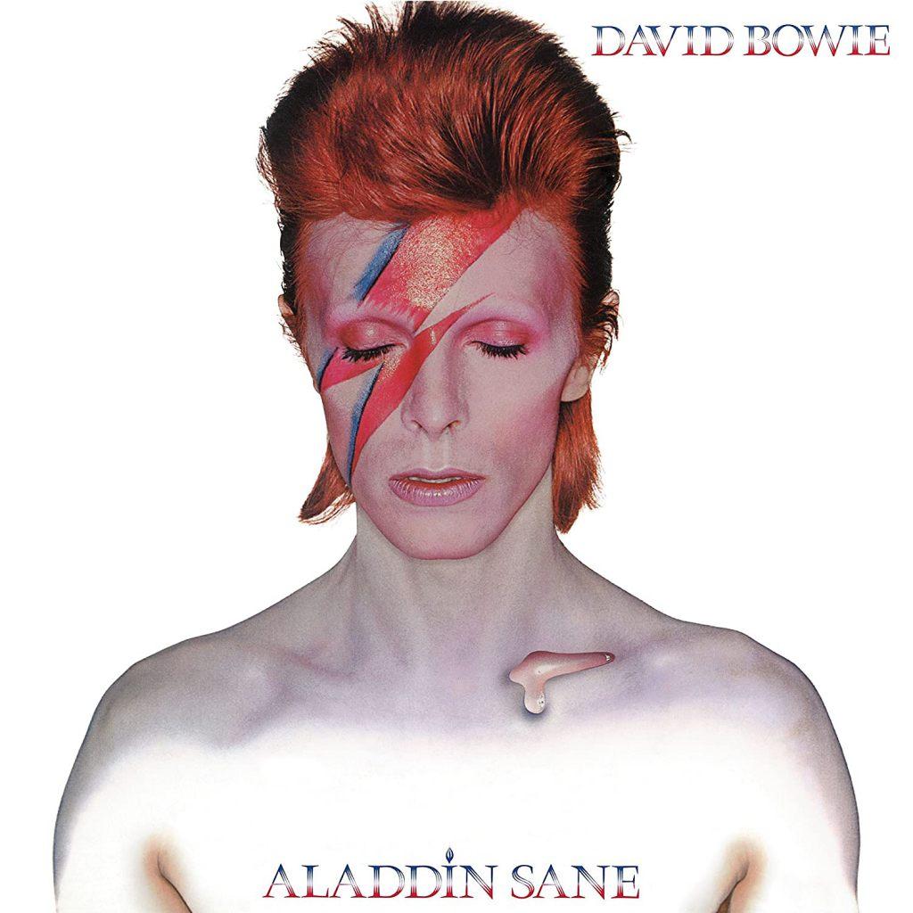 Aladdin Sane - David Bowie album cover