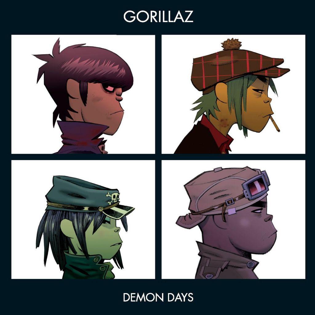 Demon Days - Gorillaz album cover