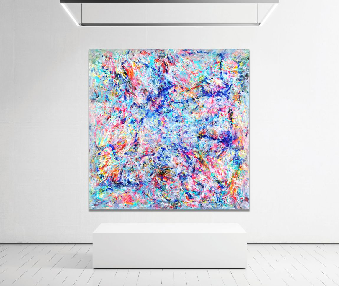Colour Sanctuary – Abstract Expressionism by Estelle Asmodelle