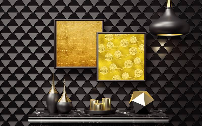 Framed Gold looks indredible