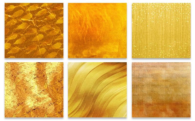 Golden Backgrounds examples