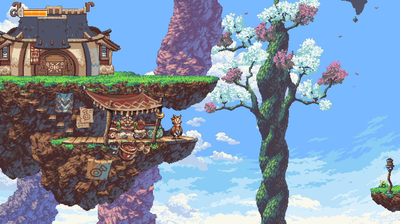 Owlboy pixel game