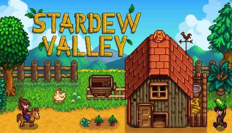 Stardew Valley pixel game