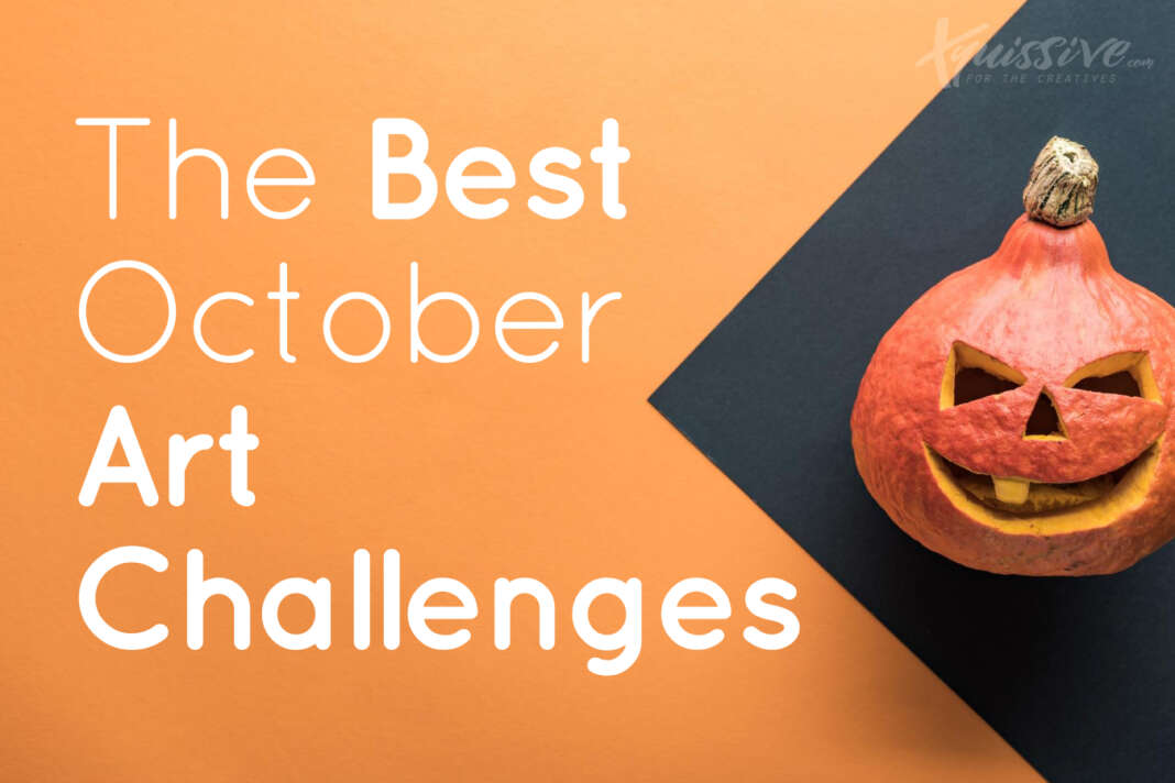 best october art challenges